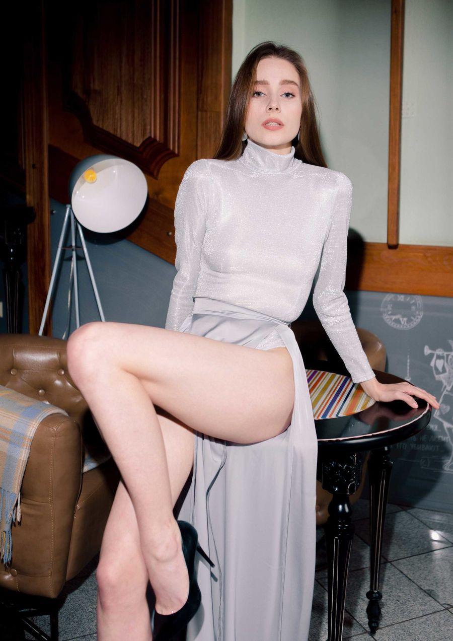 Paparazzi flash Eveningwear Dress satin lurex your musa Сastel skiny bodysuit
