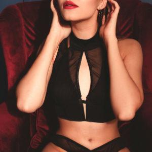 Lingerie silk Transparency your musa Amnesia la musa Bra: Underwired