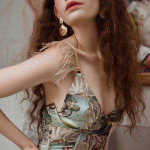 Lingerie silk ART CAPSULE your musa Venus Set la musa fashion