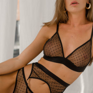 Lingerie net Transparency your musa Flirt NEW la musa ink calligraphy