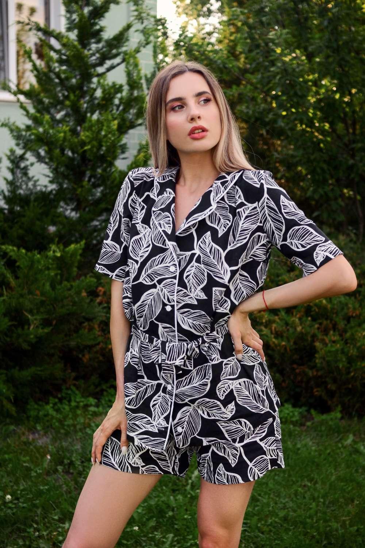 natural fabric Loungewear organic linen cotton Botanical Tattoo your musa pants and long sleeve kimono la musa chic outfit