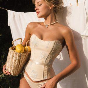 Lingerie corset la musa your musa Sun Light Coreset la musa model