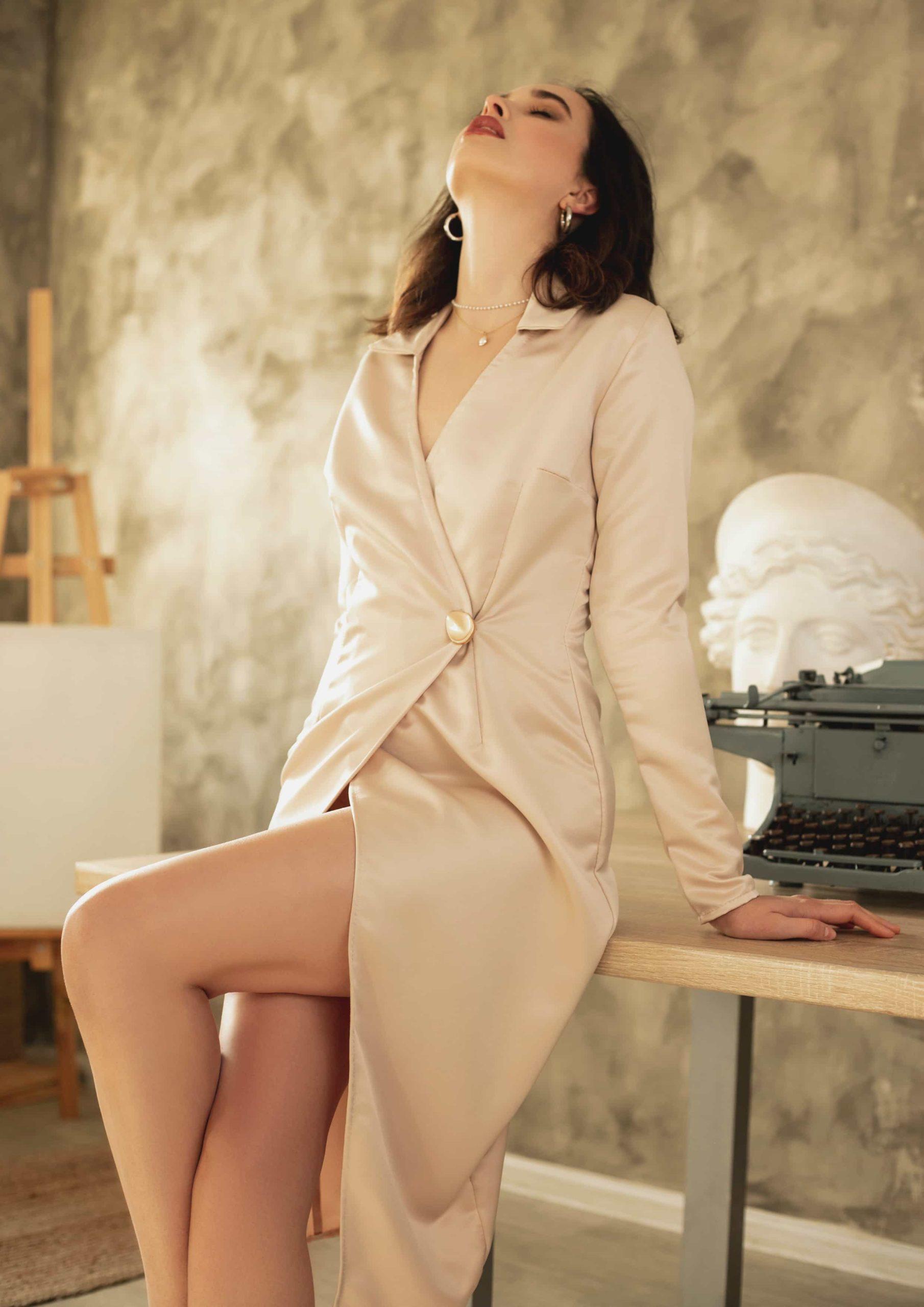 Dress elegant fashion style your musa la musa model 2020 2021