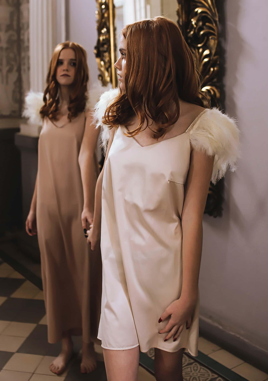 angel sleep dress