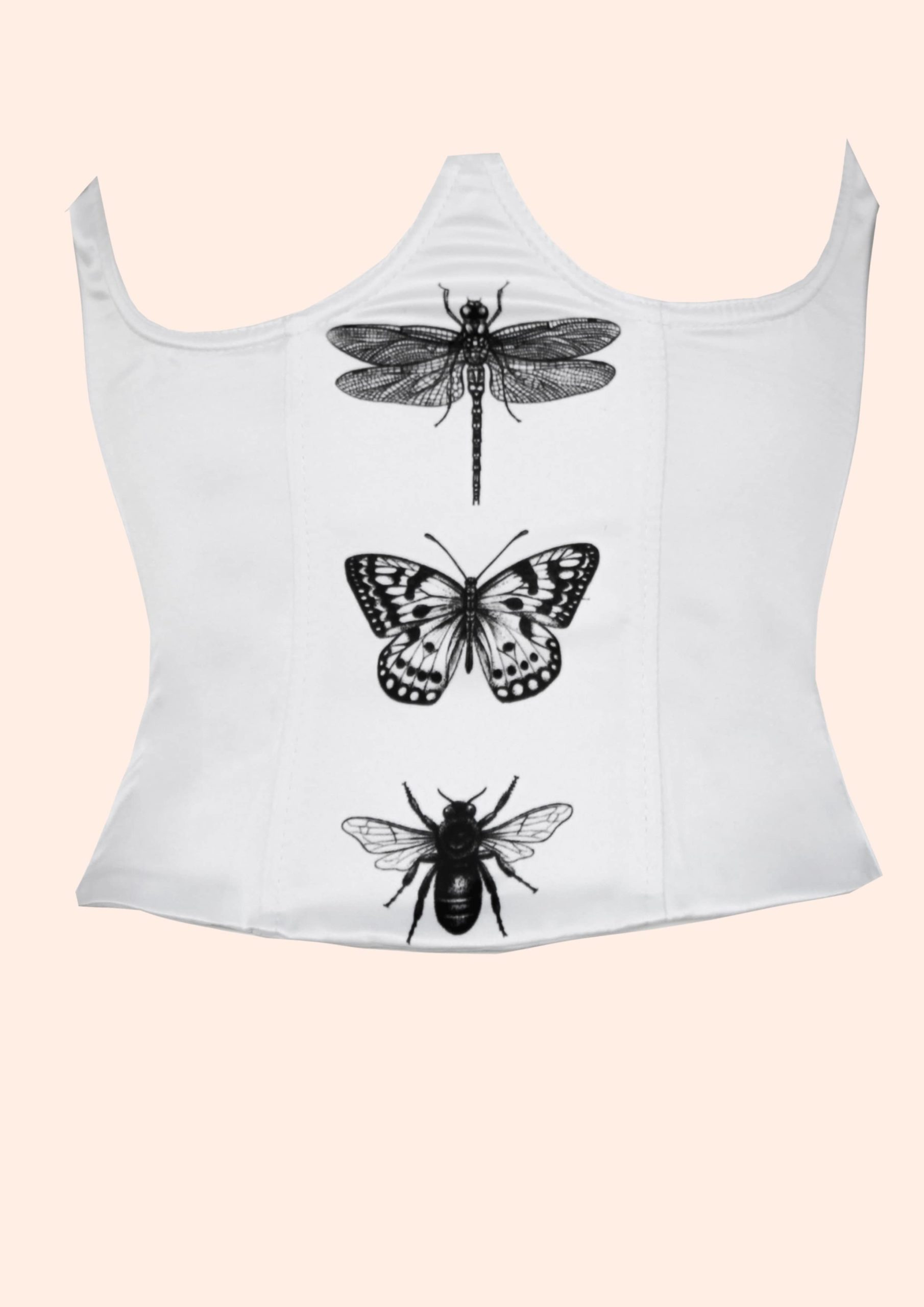 Graphic butterfly corset 2021 collection