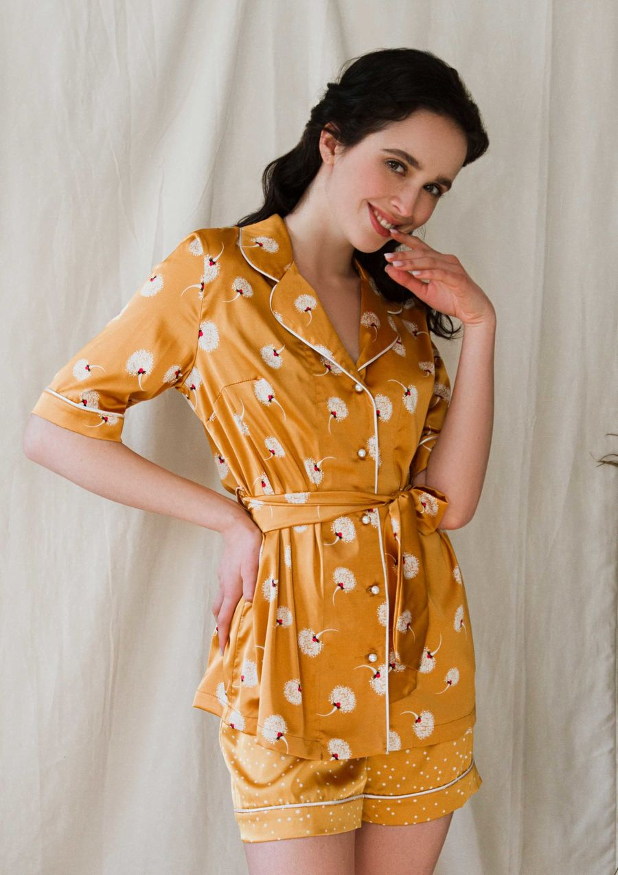 Loungewear silk Marigold your musa must have la musa