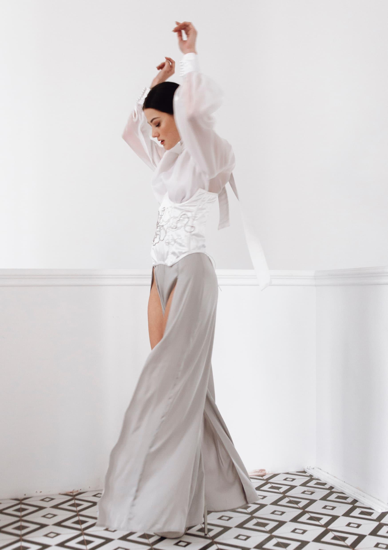 Silk Step pants dress la musa yourmusa 2021
