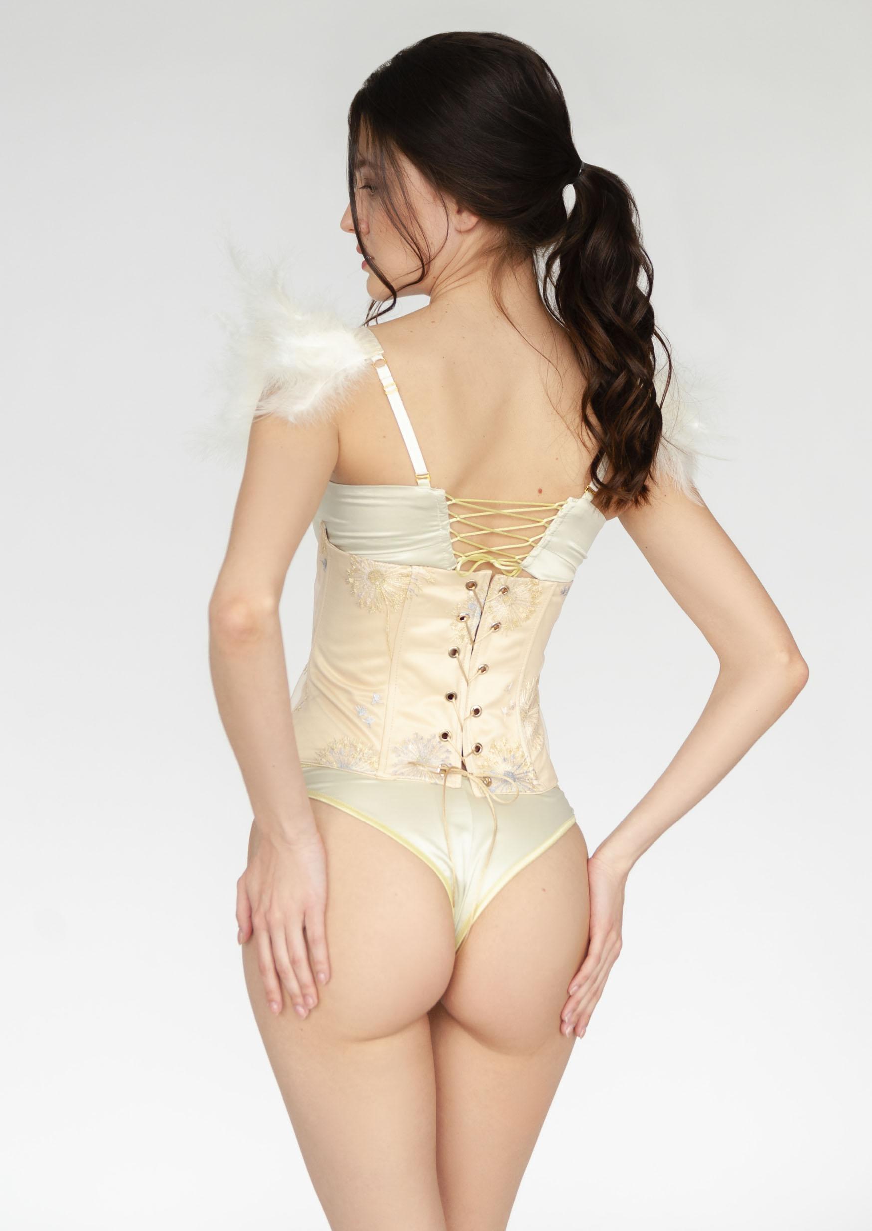 sicilian underbust corset