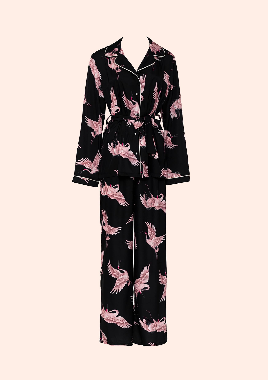 Black bird loungewear