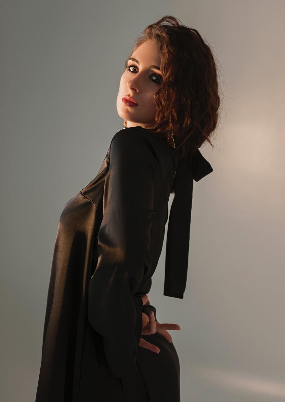 Pearl black dress