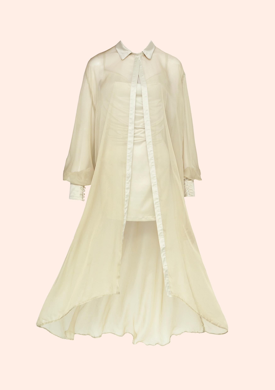 Pistachio ice cream dress