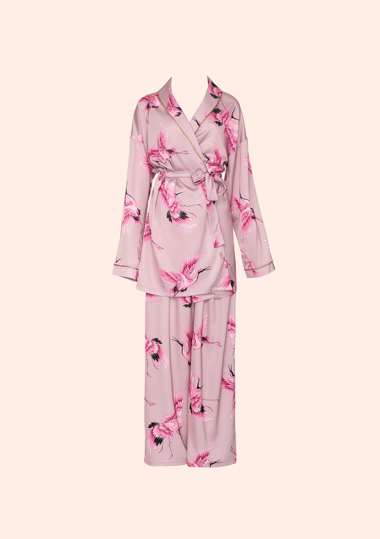 Rose gold bird loungewear